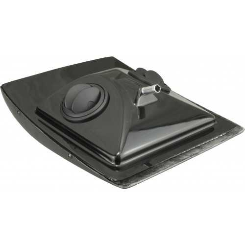 Duct inlet roof Black