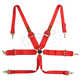 "QSP 6 point safety harness 3"" HANS"