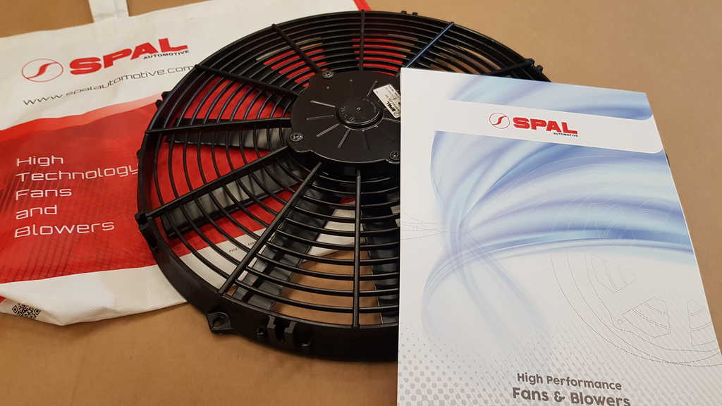 SPAL cooling fan 350mm (suction)