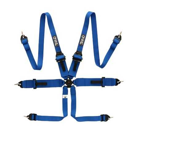 "QSP 6 point safety harness 3"" HANS FIA"